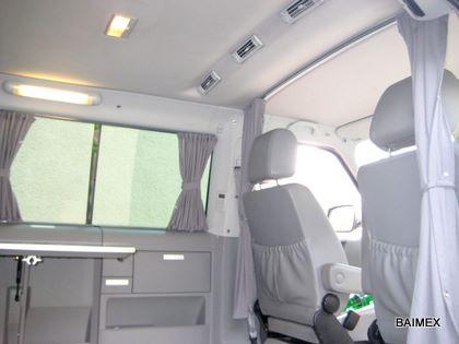 Mercedes Vito 638 Blickschutz Fahrerhaus Abtrennung Lichtschutz Baimex neu
